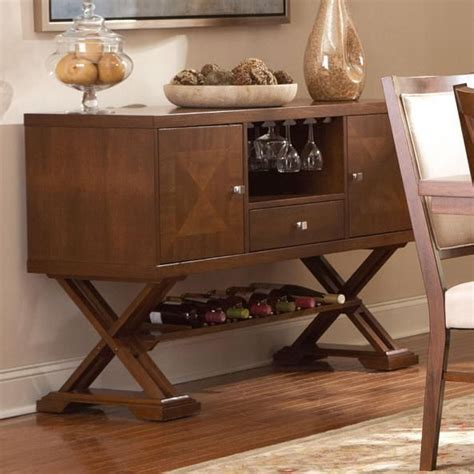 coaster garrison 102915 brown wood buffet table in los