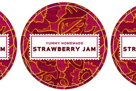 jam labels template canning label template merriment design