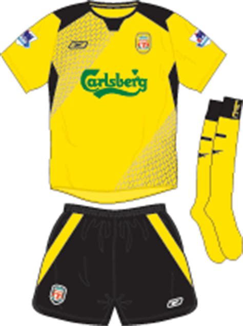 Jersey Liverpool Away 20042005 Sleeve liverpool fc