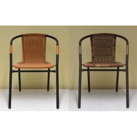 sedie da giardino rattan sedia da esterno giardino bar sedie metallo rattan esterno