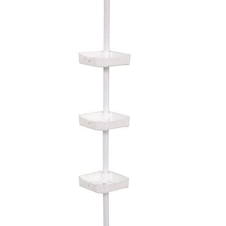 Shower Rack Walmart by Mainstays Tub And Shower Tension Pole Caddy 3 Shelf
