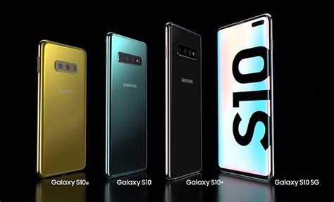samsung launches the galaxy s10 s10 and s10e alongside its 5g ready smartphone daily