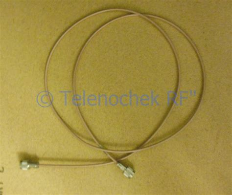 Thermax Teflon Silver Wire 120mm thermax m17 60 rg142 mil dtl 17h 12814 n n m 77 quot 11 ghz rugged rf cable ebay