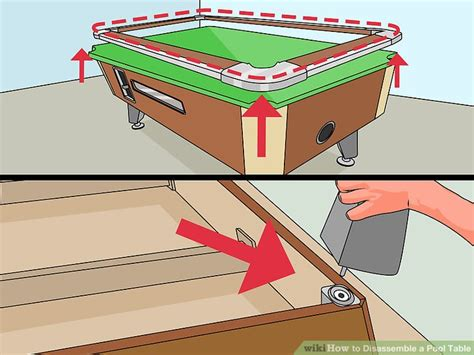 pool table disassembly how to disassemble a pool table 11 steps with pictures