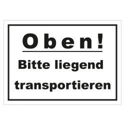 Paketaufkleber Oben by Aufkleber Quot Oben Bitte Liegend Transportieren Quot 148 X 105