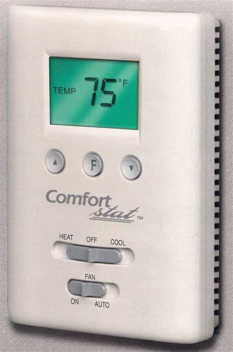 comfort stat thermostat em ac supply