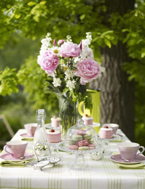 Garden Table Decor Country Style Chic Girly Garden
