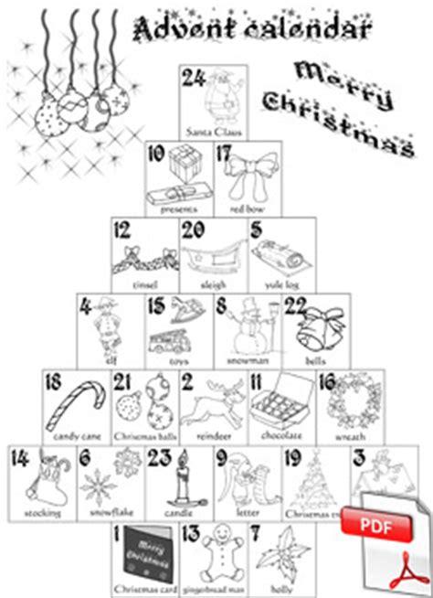 Calendrier De L Avent Anglais Cycle 2 Des Calendriers De L Avent La Classe Des Gnomes
