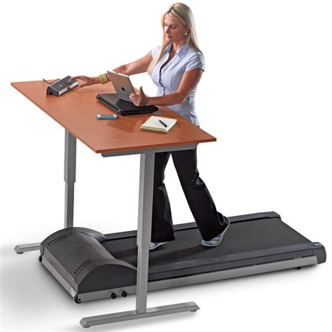 Walking Computer Desk Tr800 Dt3 Desk Treadmills Lifespan Workplace