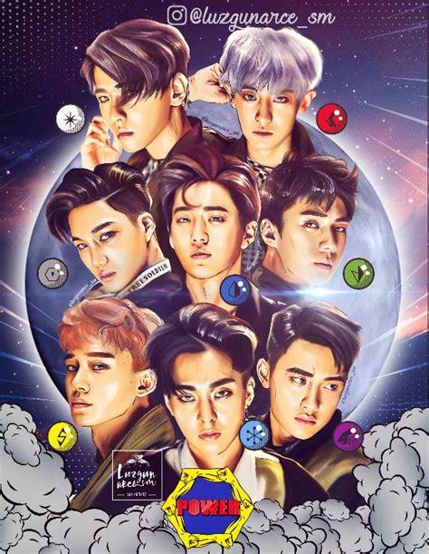 Notebook Kpop Exo Power Member Chen fanbook fan social platform