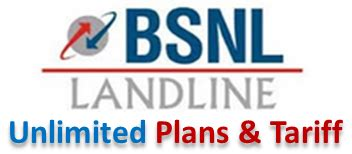 bsnl landline unlimited plans tariff more talk with