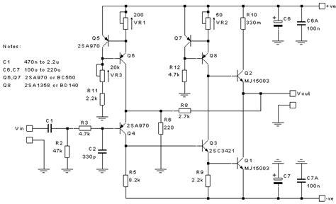 capacitance multiplier jlh the class a lifier site jlh class a update