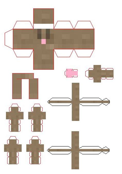Paper Craft Rabbit - 1000 images about minecraft on crossy road