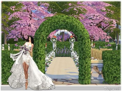 Wedding Place 01 by TugmeL at The Sims Resource » Sims 4