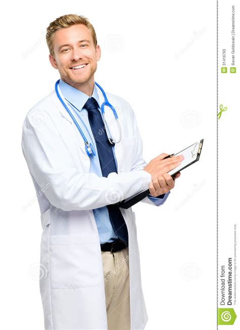Stock Mainan Anak Doctor 3 In 1 Doctor Set Laris length of confident doctor on white background stock image image 31416793