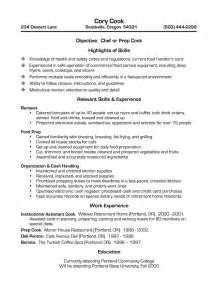 Fry Cook Description by Brief Hospital Cook Description For Resume Sainde Org Resume For Sous Chef Executive