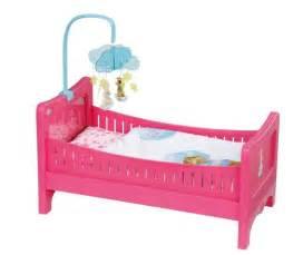 baby born bett mit himmel baby born 174 bed