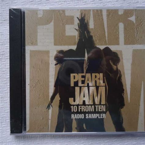 Cd Pearl Jam Ten Import sealed cd pearl jam 10 from ten radio sler 2009 epic