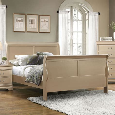louis phillipe bedroom set hershel louis philippe queen bed chagne beds