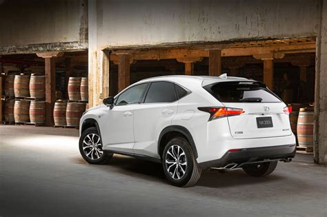 lexus crossover 2015 2015 lexus nx officially launched as compact luxury