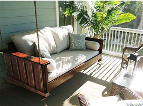swing bed porch swing beds for maximum comfort
