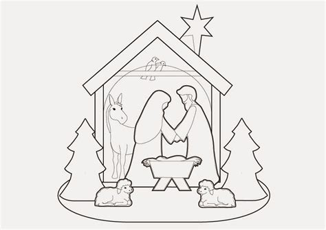 printable nativity scene template famous nativity template gallery exle resume and