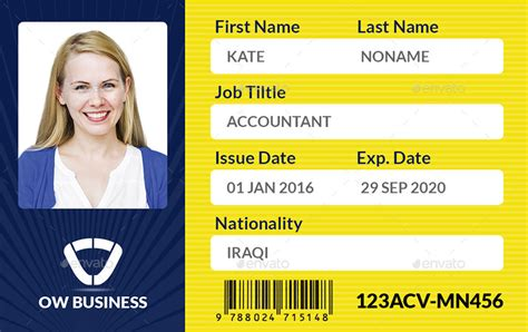corporate id card template multipurpose business id card template vol 2 by owpictures