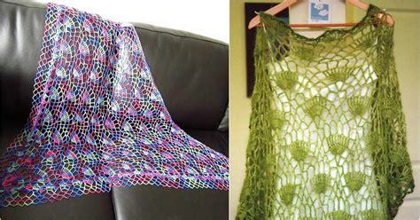 knit and crochet festival festival crochet shawl free pattern stylesidea