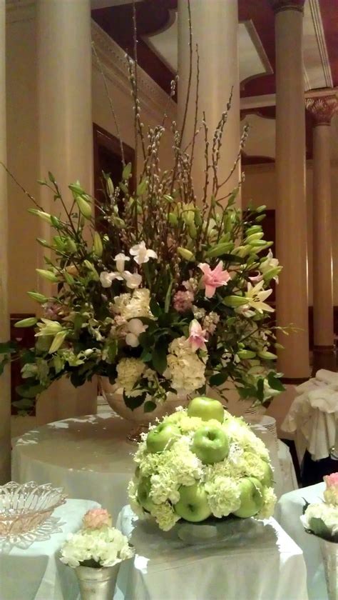 Buffet Table Arrangements Arrangements Pinterest Buffet Table Setting Arrangement
