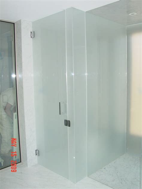 Glass Treatment For Shower Doors Chic Frameless Glass Treated Glass Shower Doors