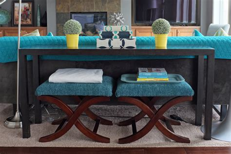 console table with bench underneath sofa table design sofa tables with stools gorgeous design