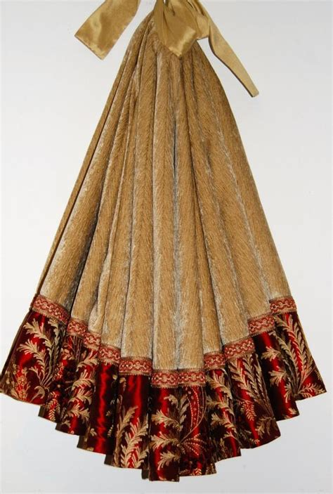 deep red tree skirts show stopping gorgeous high end gold velvet and
