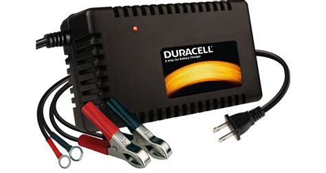 duracell car battery charger duracell 6 battery charger maintainer duracellpower
