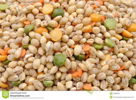 Lentil Split Mix organic barley lentil split pea royalty free stock photo image 12388375