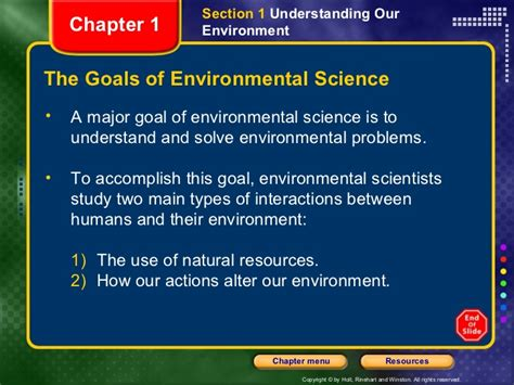 environmental science section 1 envi sci ch1 sect 1 ppt