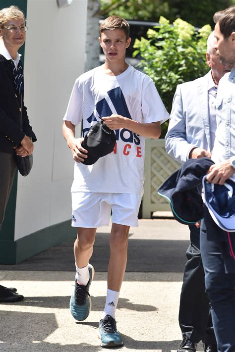romeo beckham outfits romeo beckham leads the way in the style stakes at wimbledon