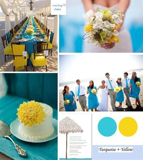 17 Best ideas about Yellow Beach Weddings on Pinterest