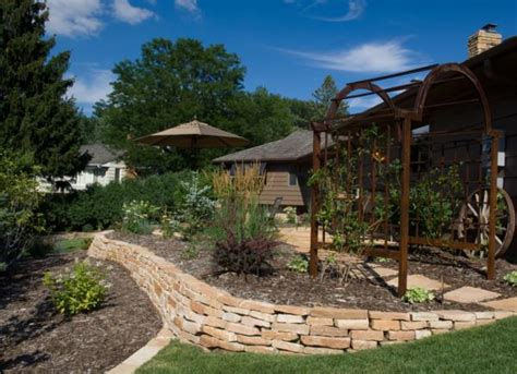 highland brown wallstone rock landscape supply