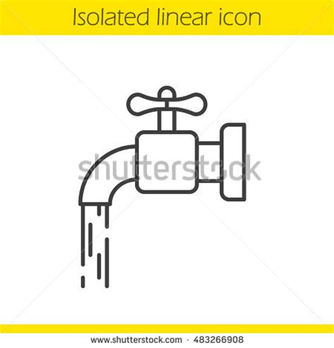 Water Faucet Drawing by Tap Stock Images Royalty Free Images Vectors