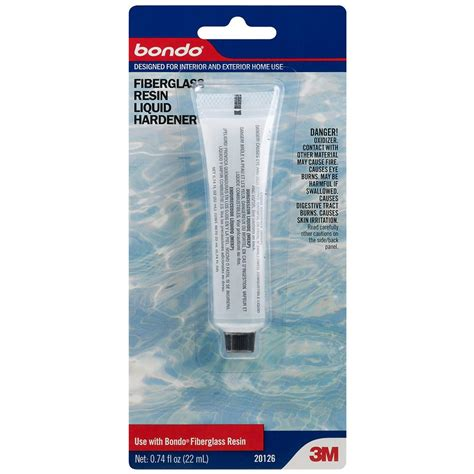 3m bondo home solutions 0 74 fl oz fiberglass resin