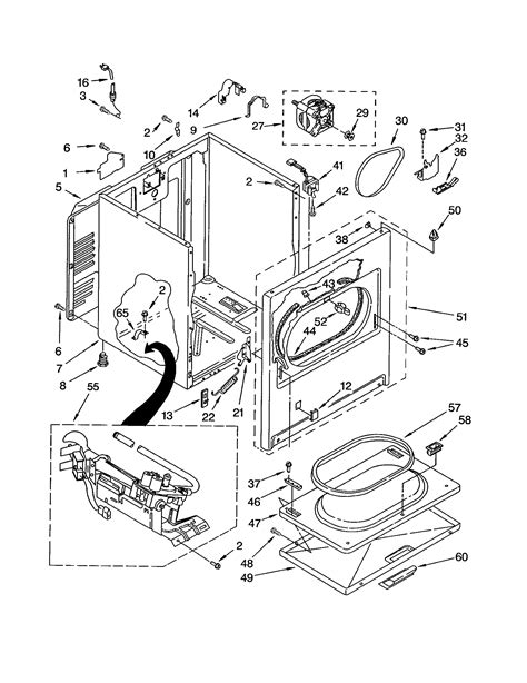 kenmore 80 series dryer parts diagram 80 series kenmore gas dryer not heating