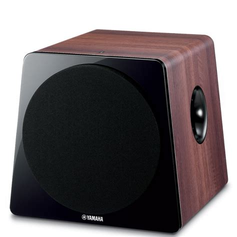 yamaha ns sw active subwoofer speakers  vision living