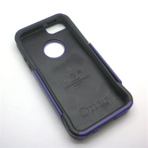 Otterbox Commuter Series For Apple Iphone 5 5s Black genuine otterbox commuter series purple cover for