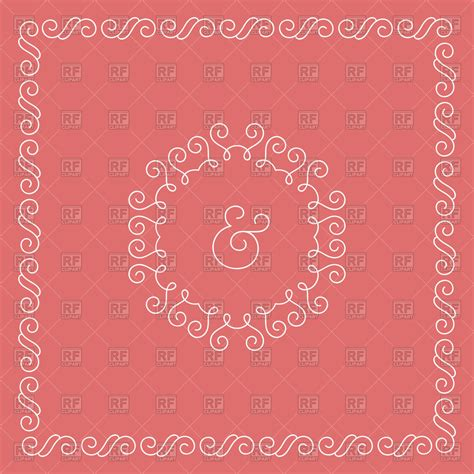 Wedding Invitation Border Eps by Decorative Borders For Wedding Invitations