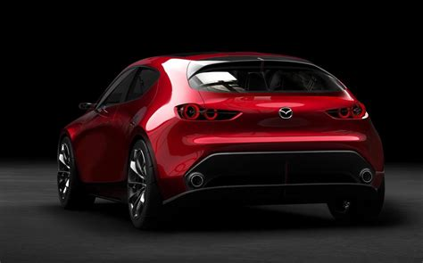 mazda xc3 2018 mazda3 previewed with stunning kai concept