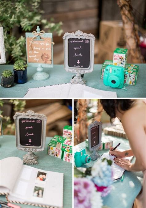 creative polaroid wedding ideas youll love deer