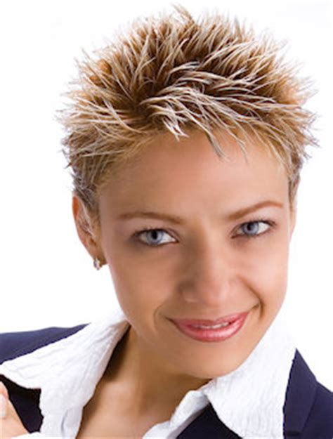 very short spikey hairstyles for women very short spiky bleached cut