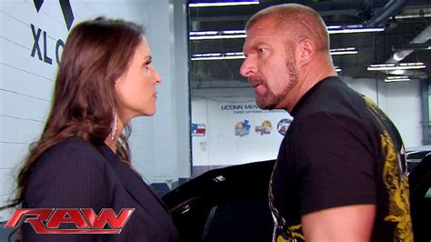 stephanie mcmahon asks triple h to sign the annulment raw after arguing with stephanie mcmahon triple h