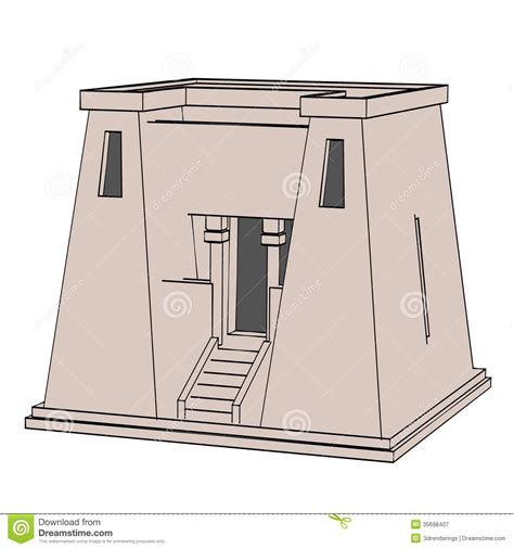 Program To Draw Floor Plans egyptian house royalty free stock photography image