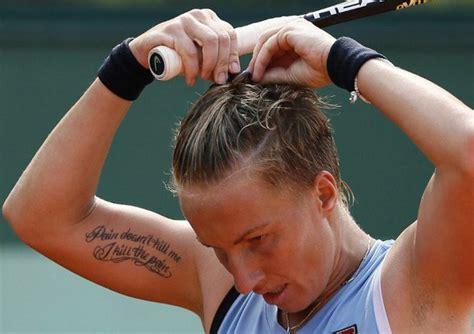 kuznetsova tattoo back sexy players sexier tattoos youth rockzzz